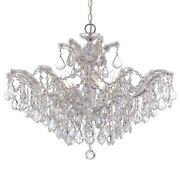 Crystorama Lighting 4439-ch-cl-s Maria Theresa - Six Light Chandelier In