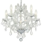 Crystorama Lighting 4405-ch-cl-s Maria Theresa - Six Light Mini Chandelier In