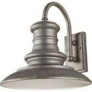 Feiss Ol9004trd Redding Station - Large Outdoor Wall Lantern Aluminum Approved