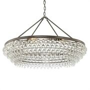 Crystorama Lighting 278-vz Calypso - Eight Light Chandelier In Traditional And