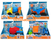 Blippi Feature Vehicle Choose Monster Mobile Cement And Recycle Truck Rocket Ship