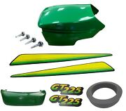 New Upper And Lower Hood/bumper/lhandrh Stickers Fits John Deere Gt225 Up S/n