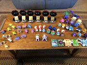 Pokemon 1999 Burger King Promo Toys And 23k Gold Plated Cards Full Set
