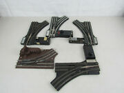 4 Vtg Lionel Remote Control No. 022 O Gauge And 5121 Switches Rt And Lt-untested