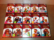 Best Of The Muppet Show 25th Anniversary - 15 Dvd + Bonus Features - Sealed, New