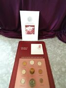 Coin Set Of Union Of Soviet Socialst Republics 9 Coins 1976 And 1978