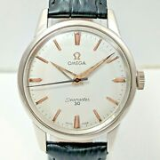 Omega Seamaster 30 Hand Wind Cal 286 Swiss Made Menand039s Steel Vintage Wrist Watch