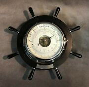 Uss Island Vintage Schatz Germany Holosteric Compensated Barometer