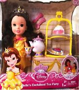 My First Disney Princess Belle Belleand039s Enchanted Tea Party Play Set Playset Doll
