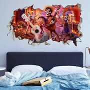 Coco Disney Music Wall Decals Stickers Mural Home Decor For Bedroom Art Jo472