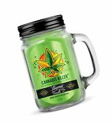 12oz Cannabis Killer Scented Beamer Candle Co. Ultra Premium Jar Candle. 90 H...