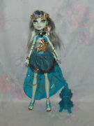 Monster High Frankie Stein Doll - 13 Wishes - Incomplete