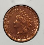 1888 Uncirculated Indian Head Cent