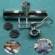 19-32mm Stainless Steel Fishing Rod Holder Marine Boat Tackle Clamp On Rails New