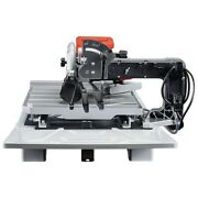 New Diamondback 7 In. Heavy Duty Wet Tile Saw With Sliding Table Free Shipping