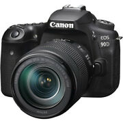 Canon Eos 90d Digital Slr Camera With 18-135mm Ef-s F/3.5-5.6 Is Usm Lens