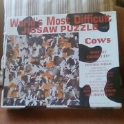 World's Most Difficult Jigsaw Puzzle, Cows  529 Pieces 15 X 1 5