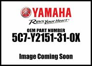 Yamaha 2013 Raider Scl Front Fender Assembly 5c7-y2151-31-0x New Oem