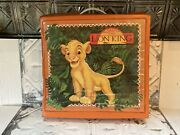 Disneys The Lion King 1994 Toy Action Figure Vinyl Carrying Storage Case Playset