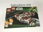 Only Instructions Lego 75025 Jedi Defender-class Cruiser Star Wars Old Republic