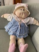 Vintage Cabbage Patch Doll 1983 With Adoption Papers