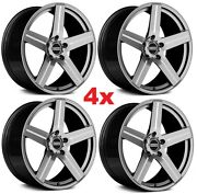 20 Gray Silver Wheels Rims Concave Staggered Camaro 2020 1lt 2lt 3lt Zl1 Zl2 Ss
