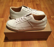 New Greats The Royale Blanco White Italian Leather Menand039s Womenand039s Sneakers