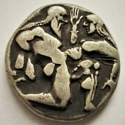 Ancient Thrace Islands Off Thasos Ar Stater. Ca 460 Bc.