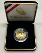 2019 W Apollo 11 50th Anniversary Proof 5 Gold Coin West Point Us Mint New 19ca