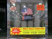 O Scale Red Led Blink Light 2 Worker 3 Level Building American Materials Plant