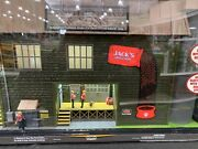 Menards O Scale Buildings County J Shepard Dog Food W/adapter - Well Detailed
