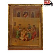 Vintage Wooden Frame Art Posters And Prints Culture Beautiful And Collectible 343