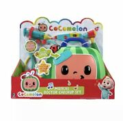 🔥 Cocomelon Musical Doctor Checkup Set Case 4 Play Pieces Brand New