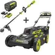 20 In. 40-volt Brushless Lithium-ion Cordless Walk Behind Self-propelled Mower