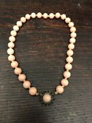 Antique Estate Find Chinese Coral Necklace