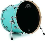 Dw Performance Series Bass Drum - 18 X 22 Inch - Hard Satin Surf - Sweetwater