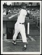 Ernie Banks 1955 Chicago Cubs Type 1 Original Photo By Casey Migon Crystal Clear