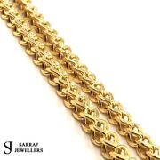 Franco King 9k 9ct Yellow Gold Chain Menand039s 30 6mm 38.6gr New Fashion Brand New