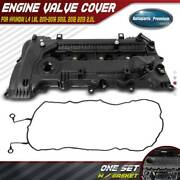 Engine Valve Cover With Gasket For Hyundai L4 1.8l 2011-2016 Soul 2012 2013 2.0l