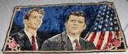 Kennedy Brothers - Old Wall - Probably 1960er/1970er Years - 37 3/8x19 5/16in/