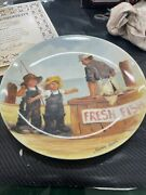 Americas Oldest 1854 Knowles Plate Collectible Reanne Down