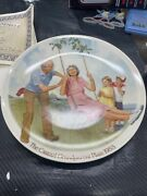 Americas Oldest 1854 Knowles Plate Collectible The Swinger