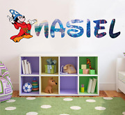 Mickey Mouse Disney Custom Vinyl Lettering Stickers Wall Decals Name Art Ka54