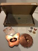 Martha Stweart By Mail Butterfly And Flower Cooper Cookie Cutters - New