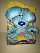 Blues Clues And You Blue Peek A Blue 10 Inch Plush Barks And Plays Peek-a-boo 2020
