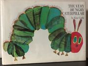 Signed And Draw The Very Hungry Caterpillar By Eric Carle 1st/12th Dj