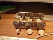 Rare Kluson Single Line Pat Applied Tuners Fits1950s Gibson And Other Guitars