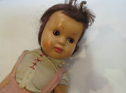 55cm Tall Antique Old Toy 1930and039s Celluloid Girl Doll Collection