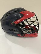 Cascade Cpx-r Lacrosse Helmet Red Black Cpxr One Size Adjustable