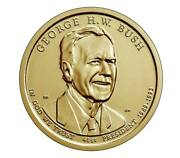 2020 Pandd George Hw Bush Presidential Dollar 2 Coin Set - In Stock - Ship Today